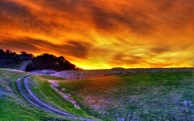 Картинка Зарево заката
