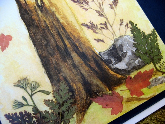 Notecard Set Woodland Collection 6 cards by Katexpressions on Etsy: Etsy Shops, Etsy Promo
