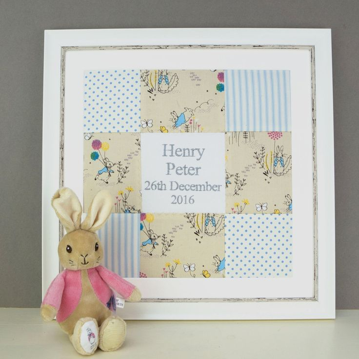 Peter Rabbit© Name and Date Picture