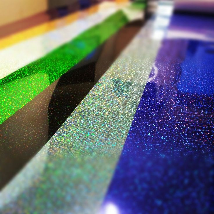 Plotter and Press Adhesive Glitter is the way to go when your wanting to add a little glitz and glam to your life. Our line of Adhesive Glitter far exceeds the exterior demands of other regions and co
