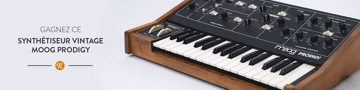 Sign up and win the Concours Moog Prodigy on Reverb.com!