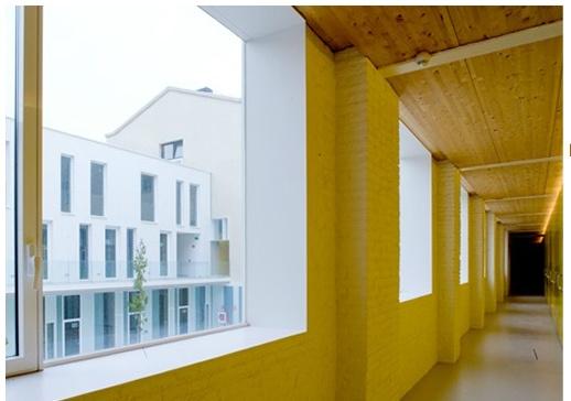 Yellow hall-Views