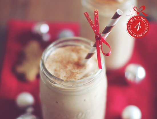 Day 4 Gingerbread Cookie Protein Shake awesome skinny recipes