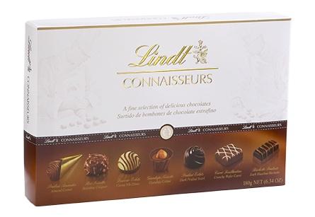 Lindt - Connaisseurs Boxed Chocolate