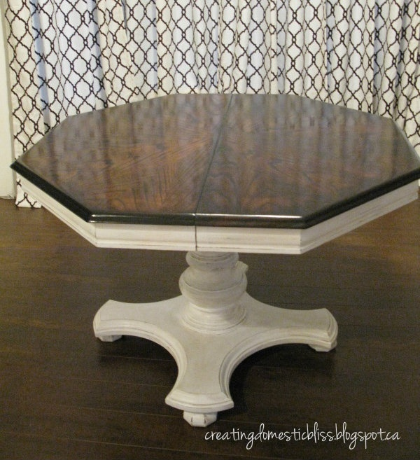 Dining Room Table Refinishing: Refinishing Wood Dining Table