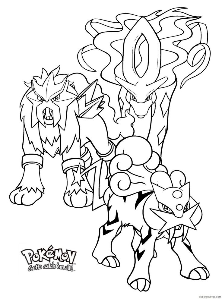entei coloring pages v 228 rityskuva lapset