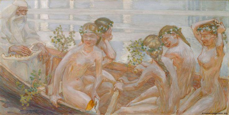 Kansallisgalleria - Taidekokoelmat - Väinämöisen venematka