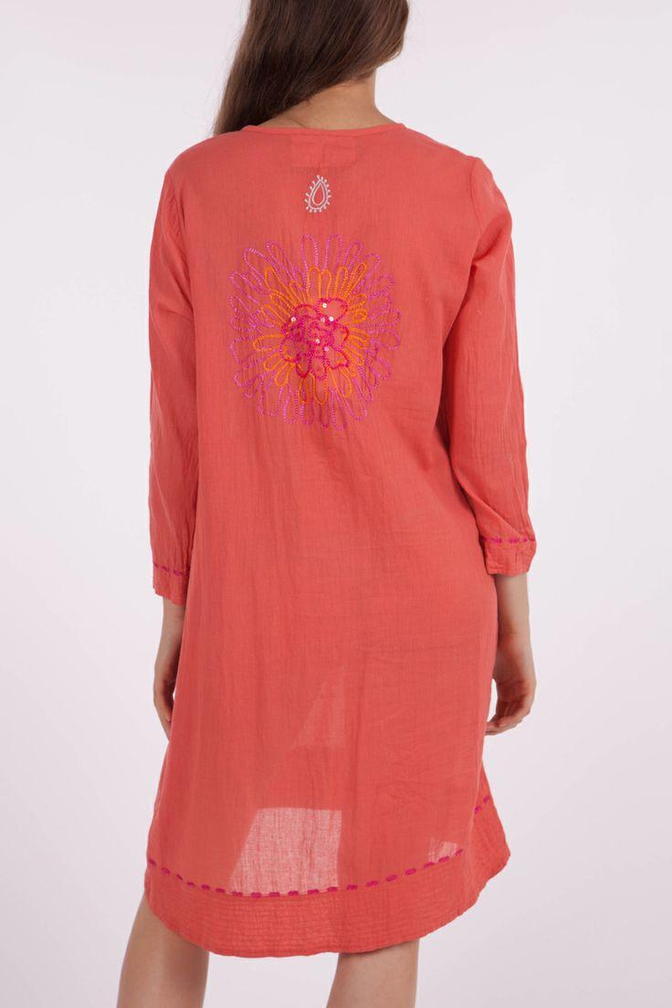 Ruby Yaya Sundance Embroidered Dress - Womens Knee Length Dresses - Birdsnest Online