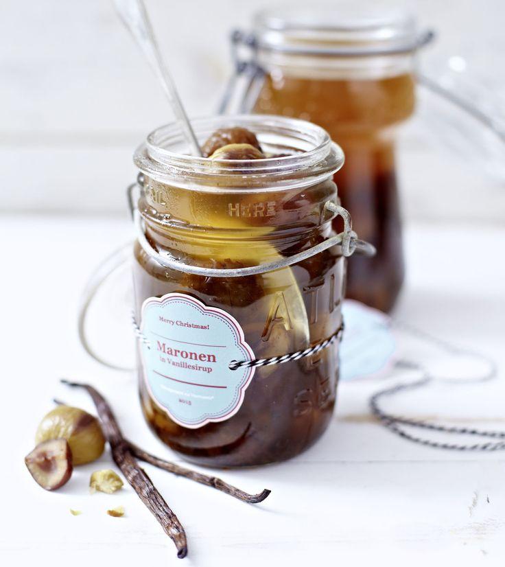 Vanillemaronen aus dem Thermomix ® Rezept-Portal!                                                                                                                                                                                 Mehr
