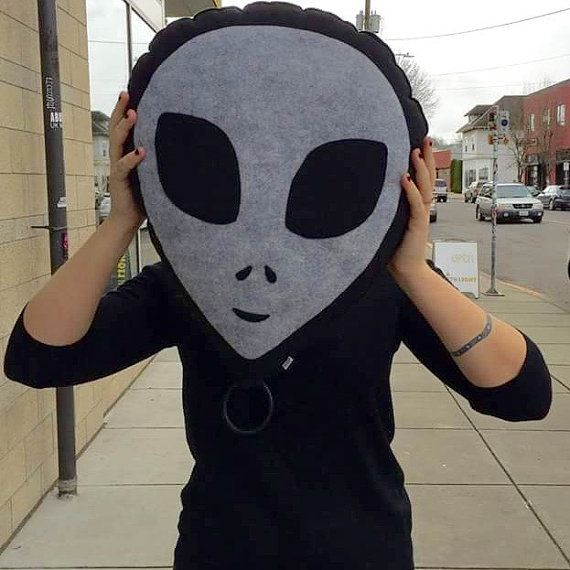 Hey, I found this really awesome Etsy listing at https://www.etsy.com/listing/270124172/alien-head-grey-pillow-alien-plush-geeky