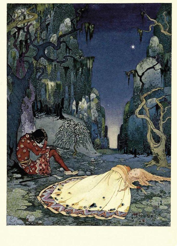 Illustration by Virginia Frances Sterrett.