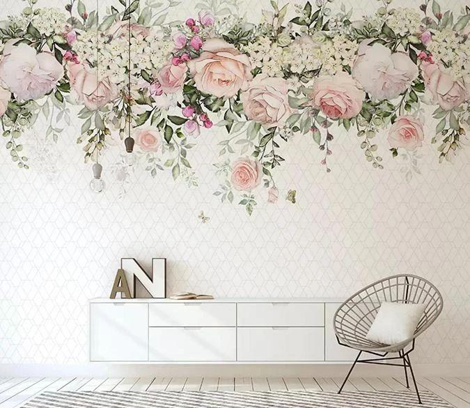 3D Flower Ring 465 | AJ Wallpaper