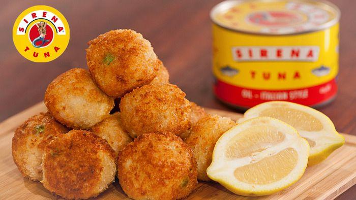 Savoury http://www.lifestylefood.com.au/recipes/17722/tuna-arancini-balls