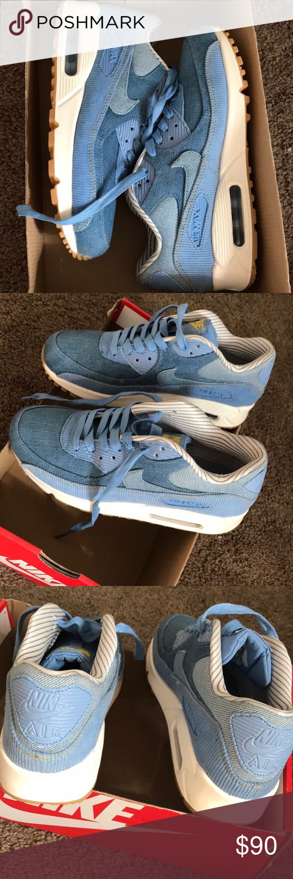 Nike Air Max Brand new never worn denim Air Max! They run true to size Nike Shoes Sneakers