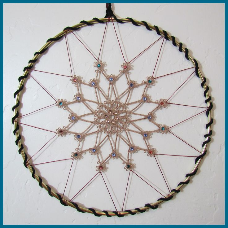 17 best images about dream catchers on pinterest for How to make a dreamcatcher step by step