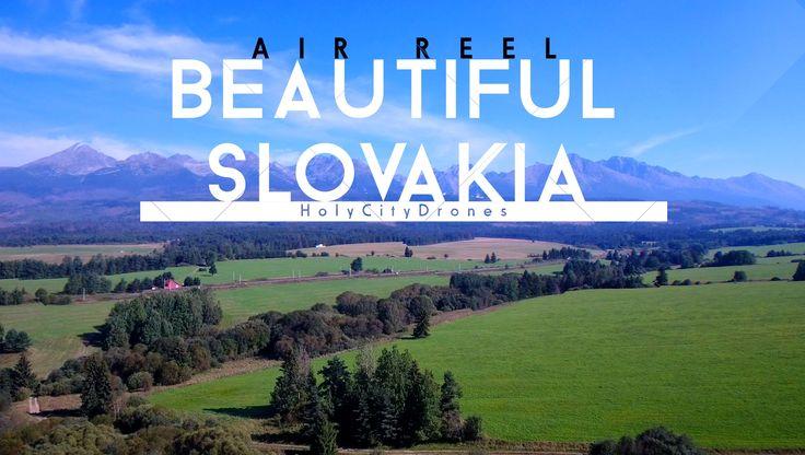 Beautiful Slovakia - 4K - Drone Shots