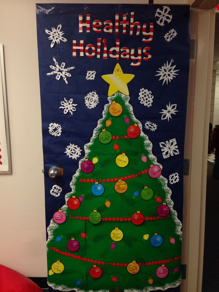 office board decoration ideas. nurses office holiday door decoration board ideas