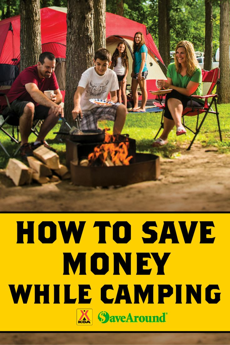 Learn how you can save money every time you camp by signing up for KOA's Value Kard Rewards Program - in partnership with SaveAround.