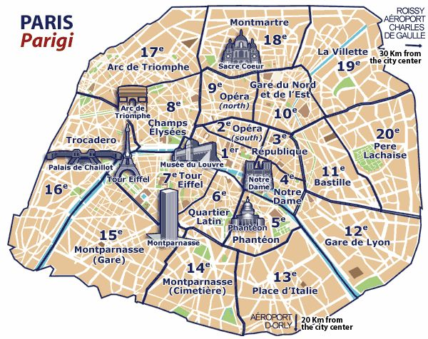 The Best Paris Google Maps Ideas On Pinterest Map De Paris - Paris map neighborhoods