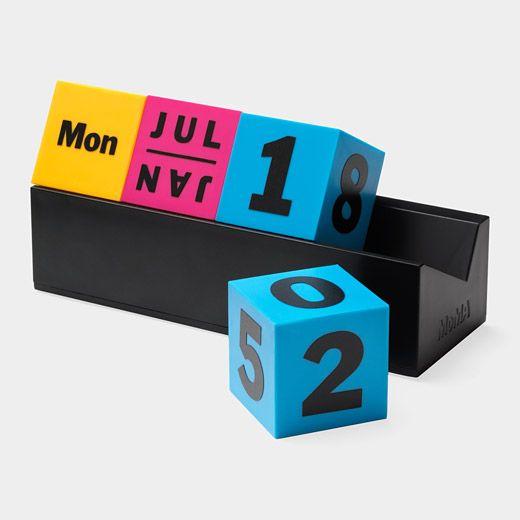 Fancy | Cubes Perpetual Calendar