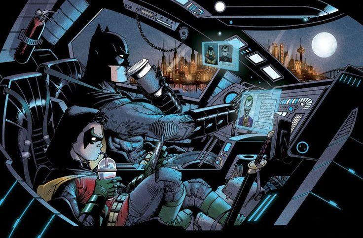 Artista cria gifs incríveis com imagens de HQs e filmes de heróis!