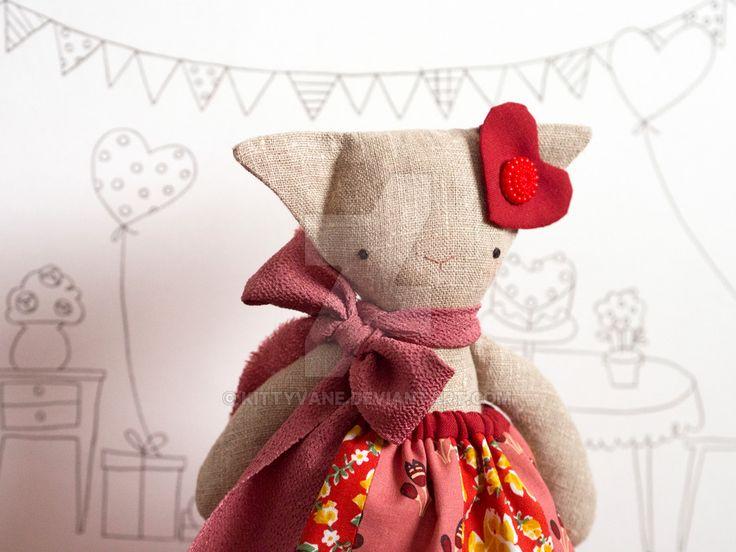Val the little rag-cat by kittyvane.deviantart.com on @DeviantArt