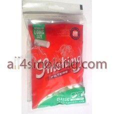 Cod produs: Filtre Smoking standard long Disponibilitate: În Stoc Preţ: 3,50RON  Filtre Smoking standard long.  Pachetul contine 100 filtre cu lungimea de 22 mm.
