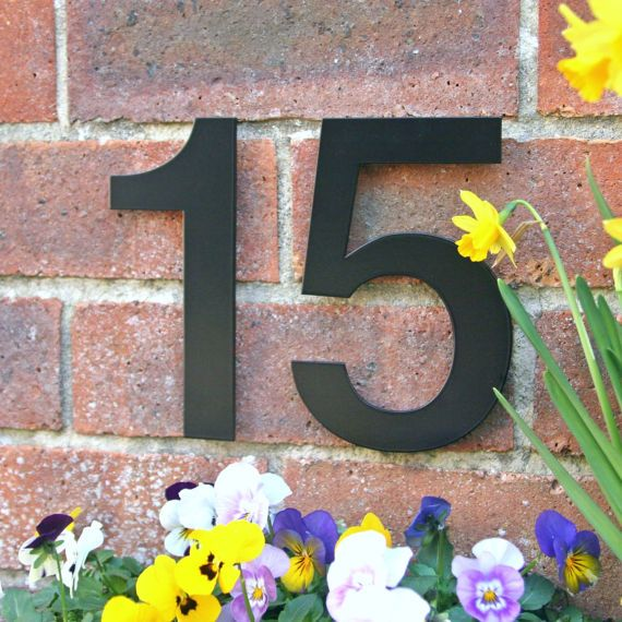 25 best ideas about House numbers modern on Pinterest Diy house
