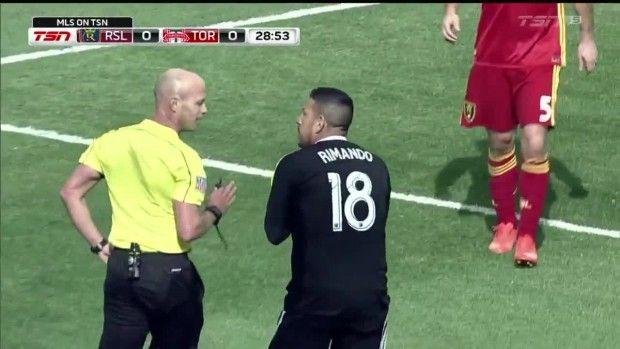 #MLS  PENALTY: Nick Rimando trips up Sebastian Giovinco in the box