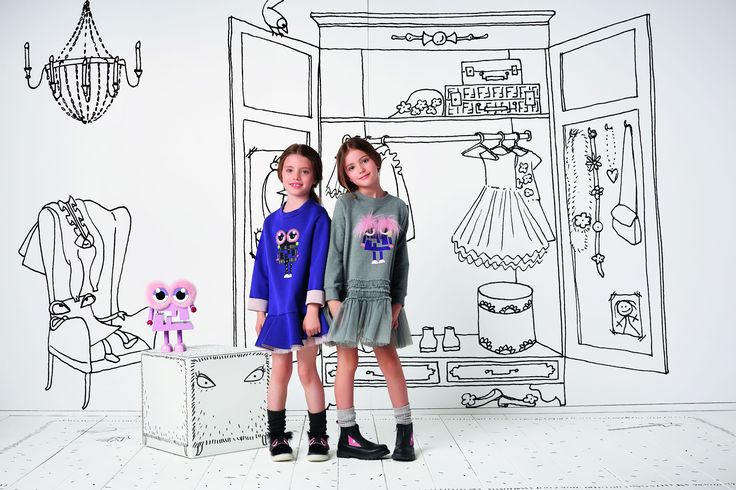 The Fendi Kids Fall/Winter 2016-17 Collection.