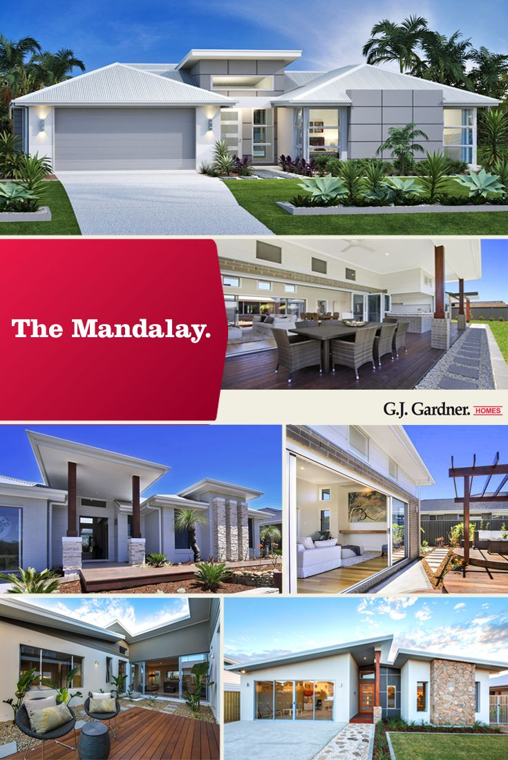 LET THE SUN SHINE IN! Taking time to plan the orientation of your house on your block will make a huge difference in the way light fills your home. If you love the idea of indoor outdoor living, with multiple living areas and an internal courtyard, you should take a look at the Mandalay Design. To download a brochure, click here! http://www.gjgardner.com.au/data/designs/v-635543402646172000/13154_14.pdf #…