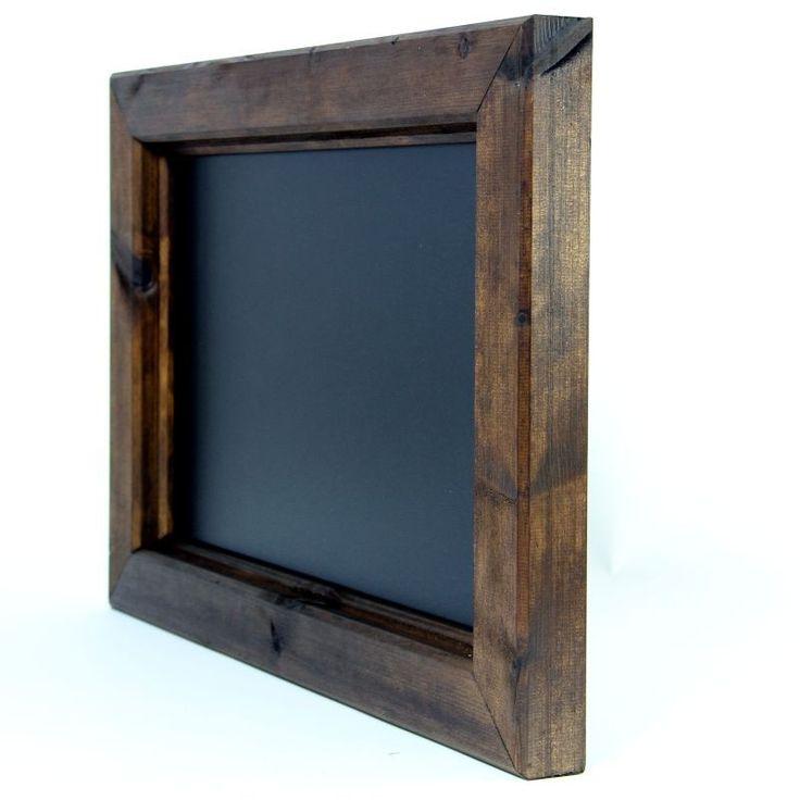 Dark Oak & Light Oak Wooden Framed Chalkboards