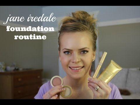 Jane Iredale Foundation Routine