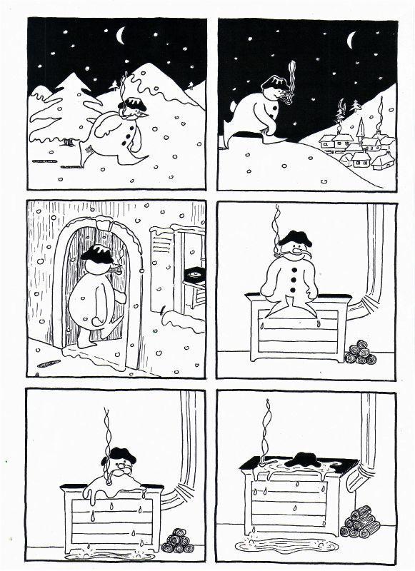 Jacques Prévert        - Chanson pour les enfants l'hiver