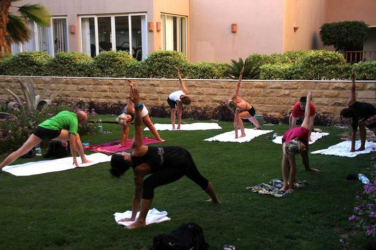 Sunset Yoga with Cinja!