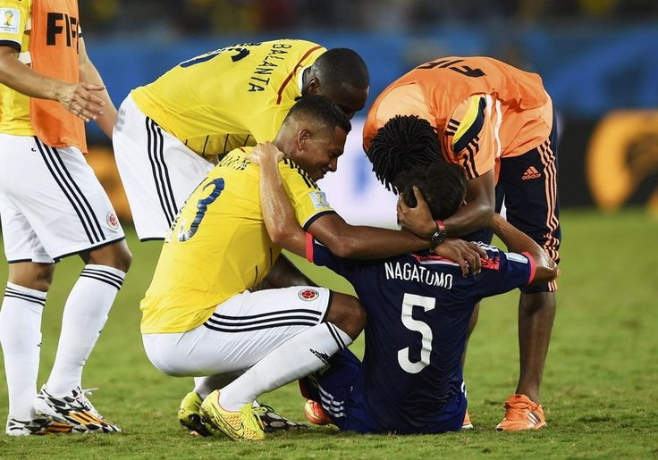 Please don't make me cry!! It was touching.  Nagatomo and Guarin