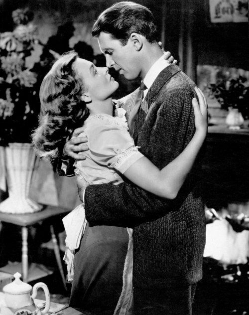 """""""George Bailey, I'll love you 'til the day I die."""" - Mary Hatch, It's a Wonderful Life"""