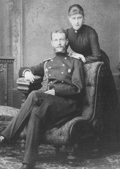Grand Duke Sergei Alexandrovich and wife Elizabeth Feodorovna