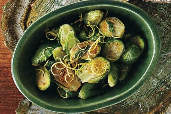 Lemon Butter Brussels Sprouts