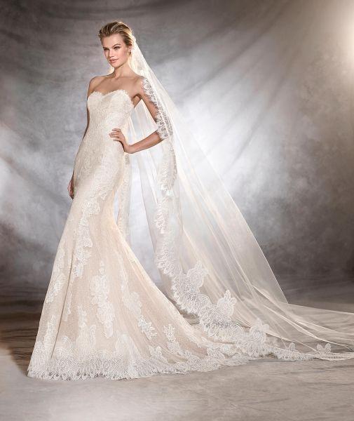 Vestidos de novia con encaje 2017: Luce sutil, delicada y elegante Image: 32