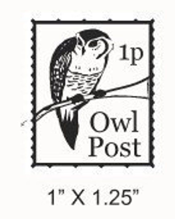 Grads And Teachers Sale Hogwarts Postmark And Owl Post Faux Postage Stamp Rubber Stamps Set 215 Hogwarts Harry Potter Theme Postage Stamps