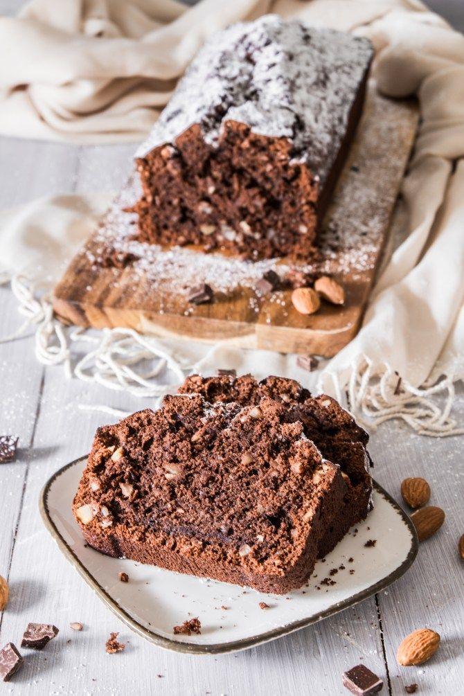 Zartbitter Mandel Kuchen Kuchen Zutaten Lecker Und Schoko Mandel Kuchen