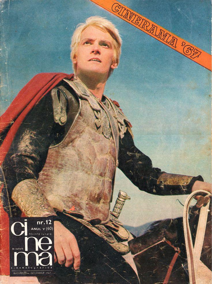 "Romanian actor Florin Piersic. Front cover of ""Cinema"" magazine (December 1967)"