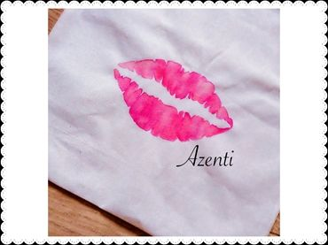 Luscious Lips Natural Cotton Tote Shopper