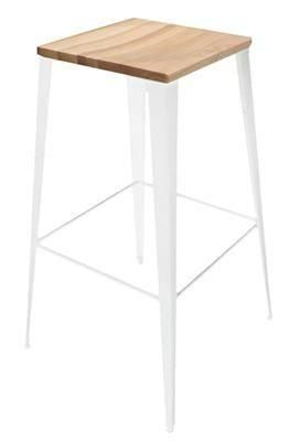 Steel U0026 Timber Bar Stool