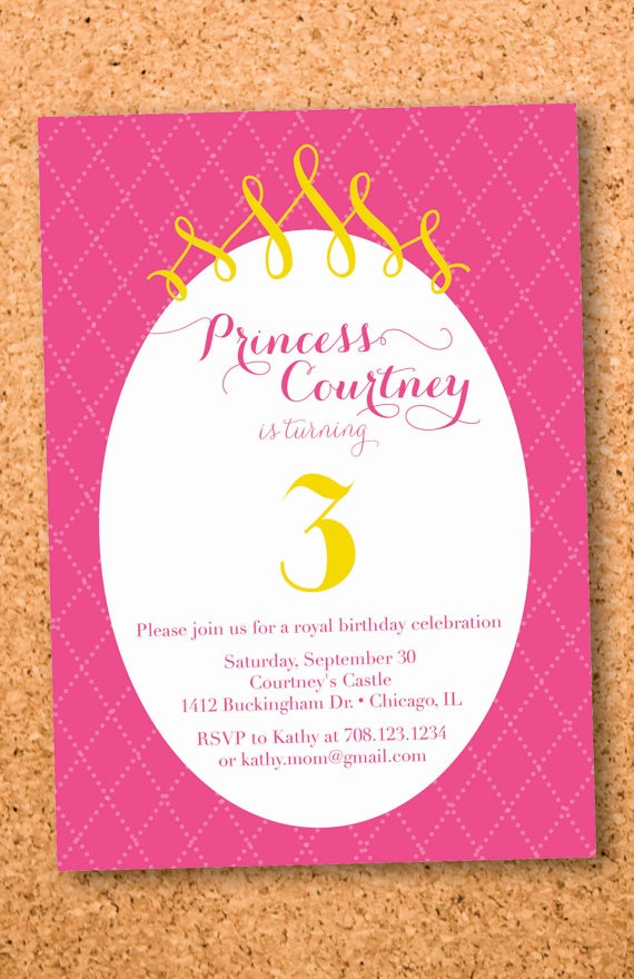95 best images about INVITATIONS for a Princess Party – Princess Party Invitation Ideas