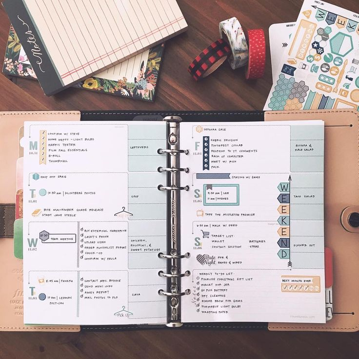I LOVE using stickers to map out my week in my planner! Stickers can keep your week at a glance neat and tidy to help keep you focused and on track with your goals each day!   #Regram via @ashleytia