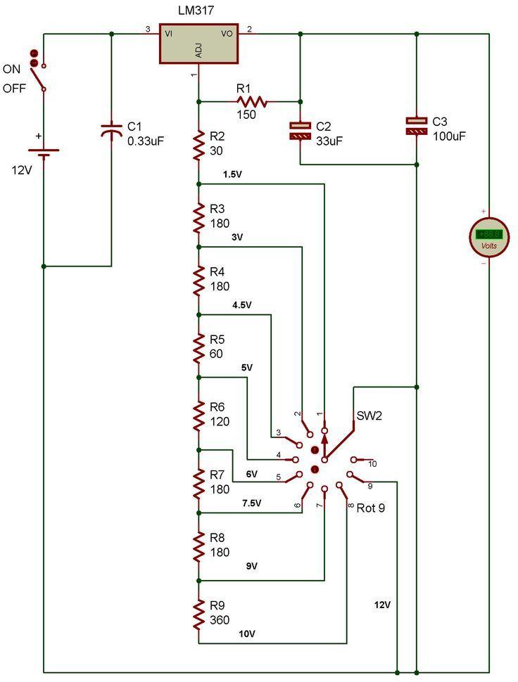 Electronic Electronics Basics Diy Electronics Electronic Schematics
