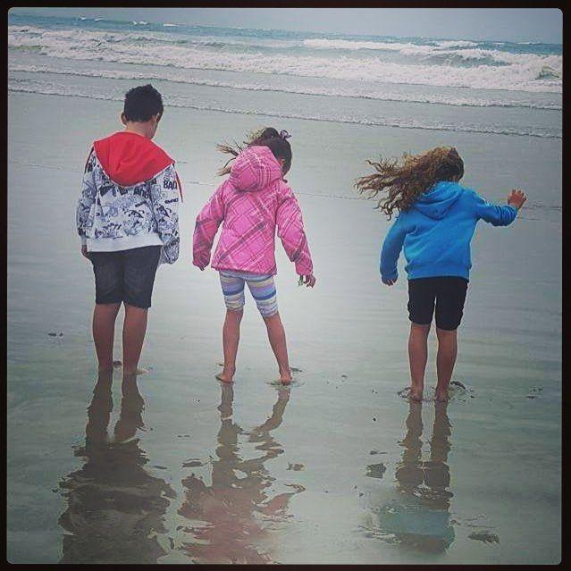 Fun at the beach in the freezing cold and wind!  #portfairy #portfairypics #moyneyanafestival #moyneyanaoceanswim by bellaisastarr