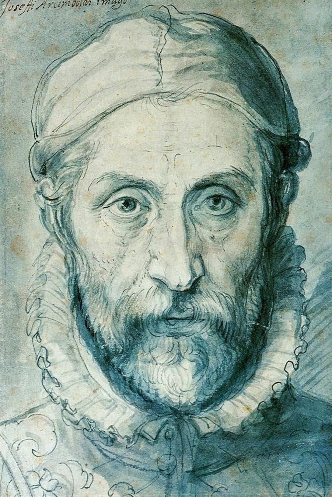 Art - Self Portraits Drawing - Giuseppe Arcimboldo - Self portrait